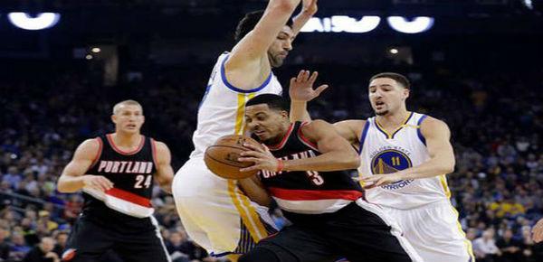 NBA-Golden-State-Warriors-Portland-Trail-Blazers