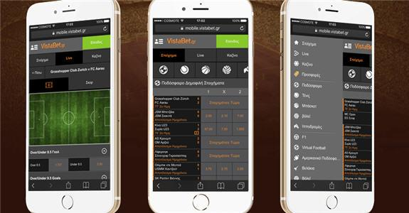 Vistabet Mobile App Android iOS download