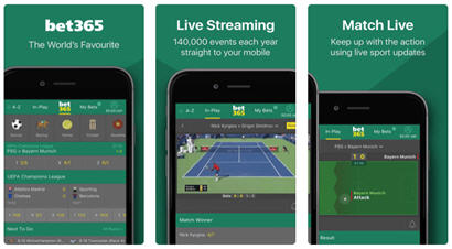 Bet365 Mobile app apk Android iOS