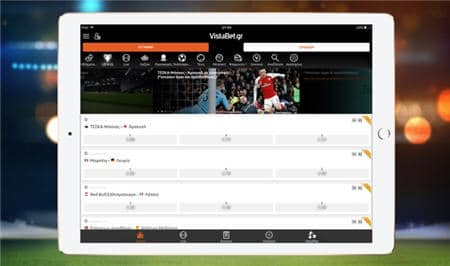 Vistabet mobile application Android iOS download